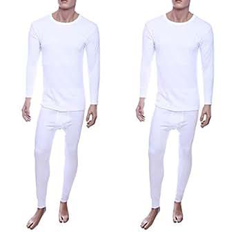 John Gladstone Jgmwtw33 Winter Wear Set Of 2 For Men - M, White