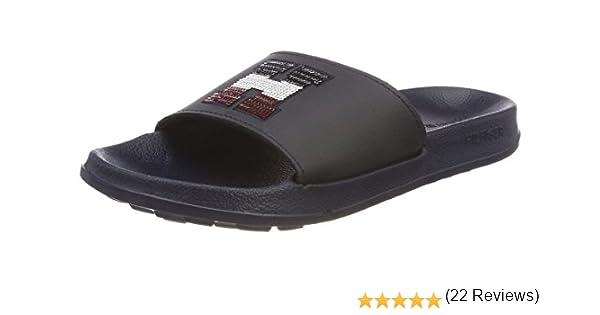 Zapatos de Playa y Piscina para Mujer Tommy Hilfiger Sequins Sparkle Pool Slide