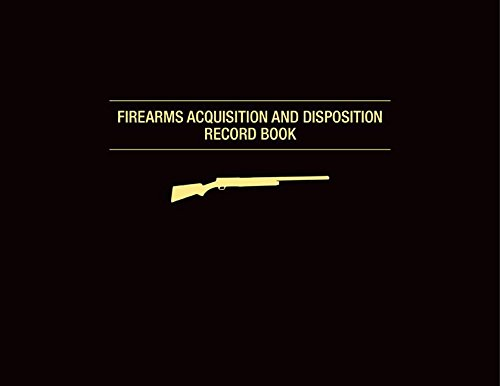 Firearms Acquisition and Disposition Record Book Hardcover-spiral – June 17, 2014 Jay Cassell Skyhorse Publishing 1628736852 Handbooks & Manuals