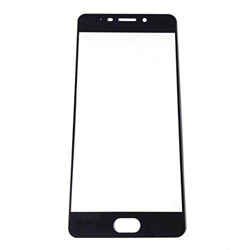 Meizu M6 Note Screen Protector Glass, GerTong Tempered Glass Ultra HD Clear Anti-Bubble Glass Screen Protector for Meizu M6 Note (Black)