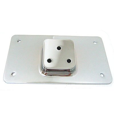Generic Laydown License Plate Mount Bracket for Harley-Davidson (MW11-96CL)