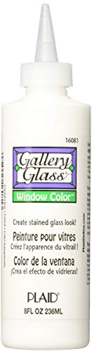 Gallery Glass Window Color (8 Ounce), 16081 Crystal Clear - Pack of 4