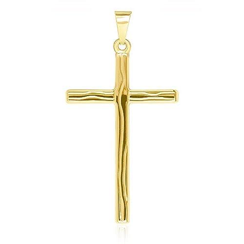 fd243bfd44cf 30% de descuento MyGold Cruz de colgante de oro (sin cadena) Oro Amarillo  Brillante con ...