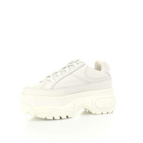 Zapatos de Blanco con Naked Bajos Deportiva Mujer Plataforma Color Wolfe Aqx5fp