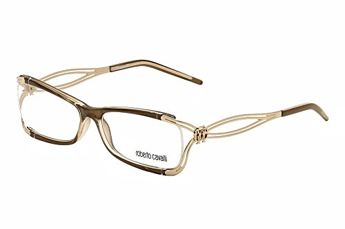 ROBERTO CAVALLI Eyeglasses RC0635 Cannella 050 Brown Backspray - Glasses Cavalli