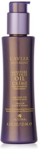 Caviar Anti-Aging Moisture Intense Oil Crème Pre-Shampoo Treatment, 4.2-Ounce