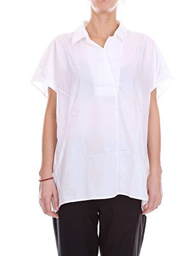 shirt T Donna Seta Bianco Wwcam0663p004 Woolrich aPB1qCwC