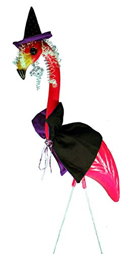 (WitchMingo Pink Flamingo Lawn Ornament by Pink)