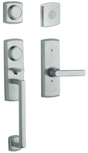 Dummy Soho Handleset (Baldwin 85385.260.2RFD Soho Right Hand Dummy Handleset with Soho Lever, Chrome)