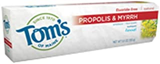 product image for Tom's Of Maine Propolis & Myrrh Fluoride Free Toothpaste, Fennel 5.5 oz