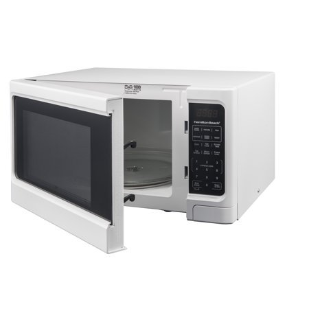 Hamilton Beach 1.1 cu ft Digital Microwave Oven, White by Hamilton Beach' (Image #3)