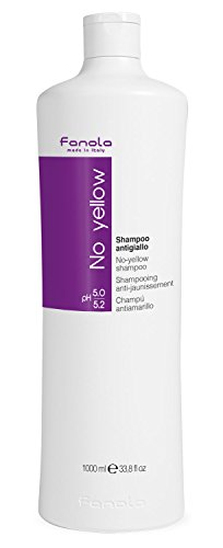 Fanola No Yellow Shampoo Large Bottle, 33.8 Fl Oz