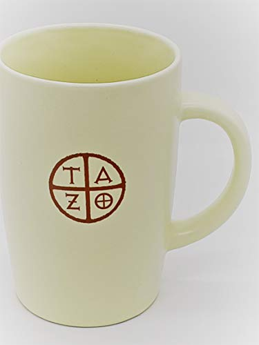 2012 Ceramic Mug - Starbucks Coffee 2012 TAZO Ceramic Tea Cup/Mug 11.8 oz White