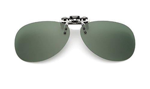Verde Unisex VF GLS04 up ELSA ANNA de amp; en Gafas Hombre Mujer Clip Las Flip Sol Polarizado g66aBxEq