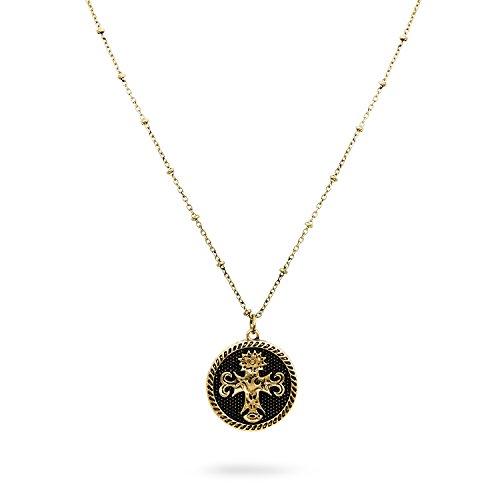 JewelryVolt Necklace Cross Dove Sunflower Life Faith - Gold-Tone Cross Pendant