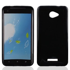 Bundle Accessory for Verizon HTC Droid DNA 6435 - Black TPU Soft Case Protector Cover + Lf Stylus Pen + Lf Screen (Cover Htc Droid Dna 6435)