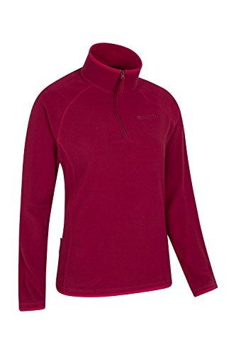 Mountain Warehouse Suéter de forro polar Montana para mujer Color baya