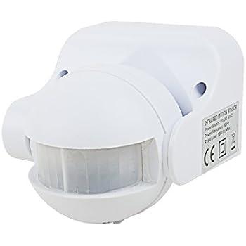 Amazon Com Uxcell Motion Sensor Detector Ac 110v 240v