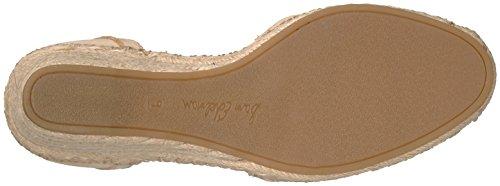 Sam Edelman Patsy Rund Leder Keilabsätze Summer Sand Nubuck Leather
