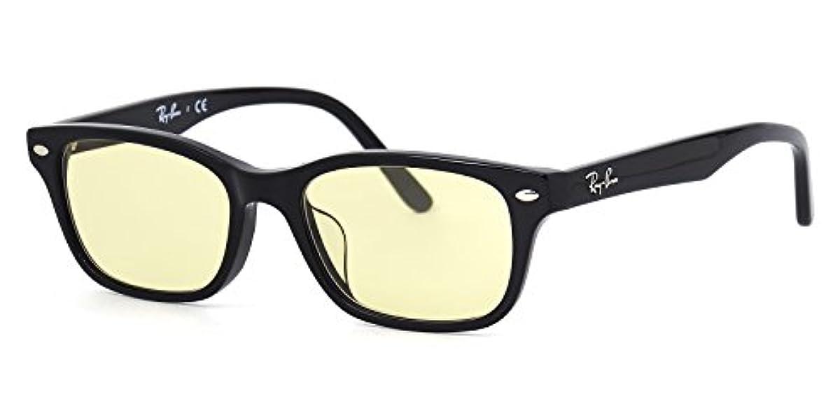 [해외] 【레이밴 국내 정규품 판매 인정점】 레이밴 안경 프레임 RX5345D 2000 53사이즈 라이트 컬러 렌즈 세트 썬글라스 안심 자외선 컷부 블랙인연 RAY-BAN LIGHT COLORS