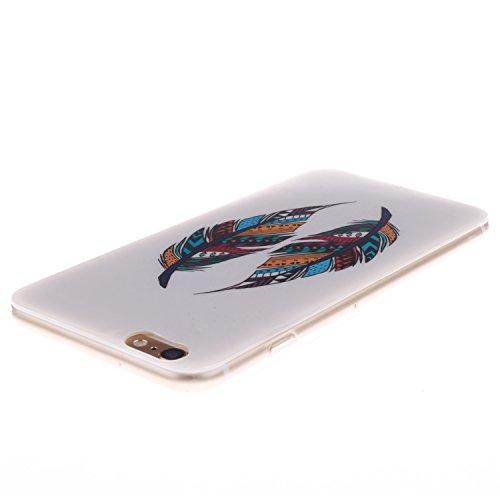 "MOONCASE iPhone 6 Case Mode Muster TPU Silikon Tasche Schutzhülle Etui Hülle Schale Case Cover für iPhone 6 (4.7"") -TX06"