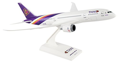 Daron Worldwide Trading Skymarks Thai 787-8 1/200 Reg#Hs-Tqb Plane Model