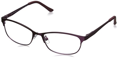 (Foster Grant Women's Shira 1015694-275.COM Oval Readers, Satin Berry, 52 mm )