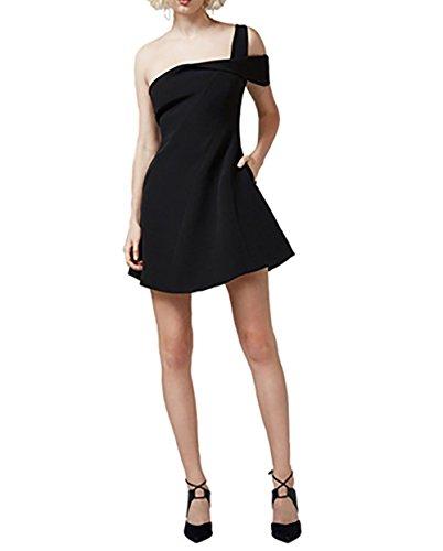 Keepsake Shooting Star Mini Dress In Black (Small)