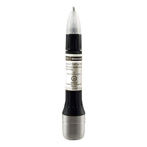 Ford Motorcraft Touch Up Paint White Platinum UG Basecoat & Topcoat - 2 Step Kit 7204A (Platinum Pearl Metallic Paint)