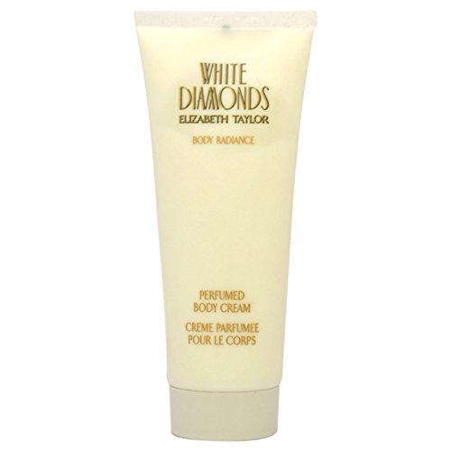 Elizabeth Taylor White Diamonds Perfumed Body Cream for Women, 3.3 Ounce - Elizabeth Taylor White Diamonds Perfumed Body Cream