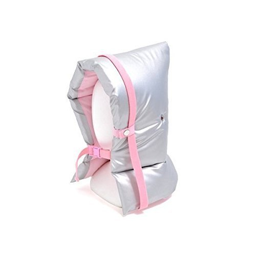 The peace of mind with kids disaster prevention hood flame silver type (pink) made in Japan N4450100 (japan import)