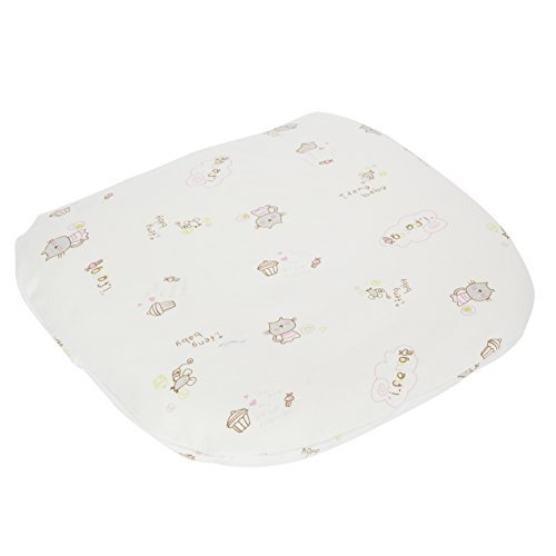 Baby Head Shaping Pillow for Infant Latex Sleep Pillow for Flat Head Syndrome Prevention,Organic Cotton Cover