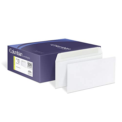 Columbian #10 Grip-Seal Envelopes, 4-1/8