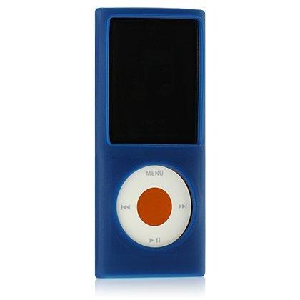 (Premium Silicone Skin Case for IPOD NANO 4th Gen / Blue [Electronics])