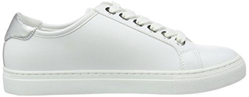 Jeans Bianco Armani da Donna Scarpe Basse Ginnastica 9252207P610 Bianco PRdrqaR