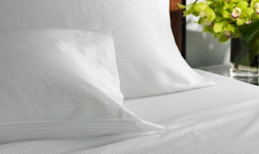 Westin Heavenly Stripe Fitted Sheet - Cal. King Striped