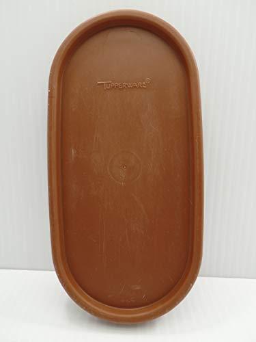 Tupperware 1616 Modular Mates Oval Brown Replacement Seal Lid -  Tupperware 1616 Brown