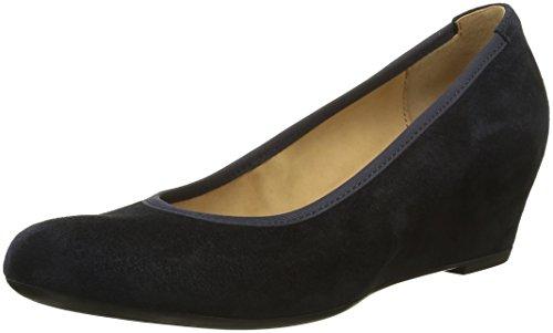 Gabor Basic Zapatos Mujer de para Tacón pazifik Shoes 16 Azul 76rwfT47
