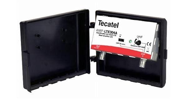 Amplificador TECATEL DE MASTIL (Exterior) para TDT 30dB: Amazon.es: Electrónica
