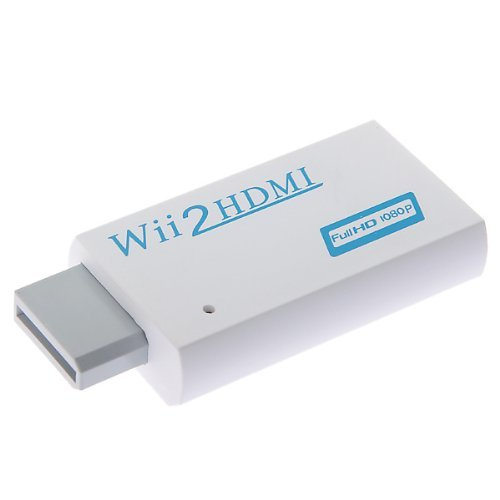 Full 1080p 720P HD Nintendo Wii To HDMI Converter Output Upscaling Adapter 480i