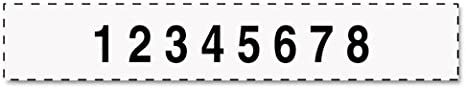 T55510 10 Digit Self-Inking Numbering Stamp Trodat Professional Numberer 3//8 x 2 1//4 Inches