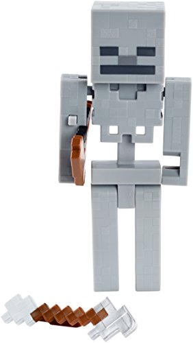 Minecraft Skeleton With Bow 5 Quot Figure Buy Online In Uae