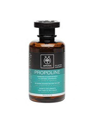 Apivita Ausgleichendes Shampoo für sehr fettiges Haar, mit Minze & Propolis