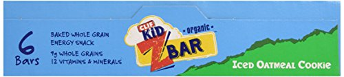 Clif Iced Oatmeal Cookie Bars, 6 pk