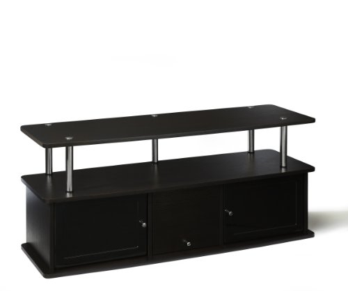convenience-concepts-designs2go-tv-stand-with-3-cabinets-for-flat-panel-tvs-up-to-50-inch-or-85-poun