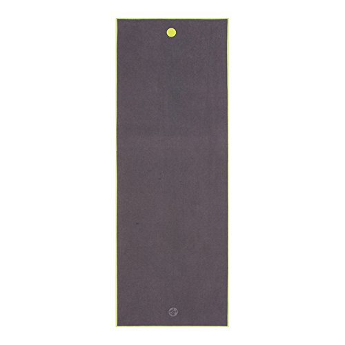 Manduka We Are One Collection Yoga Mat Towel, Thunder -