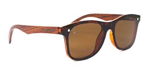 MafiawooD Óculos De Sol Frente Flat Barker Turtle Adulto-unissex, M, Turtle