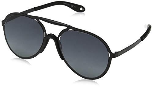 Givenchy 7039/S PDE Matte Black 7039/S Aviator Sunglasses Lens Category 2 ()