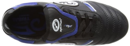 Optimum Tribal - Bota de Rugby Junior Negro/Azul (Black/Blue)