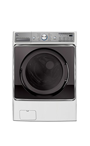 Kenmore Elite 41072 5.2 cu. ft. Front Load Washer in White, includes delivery and hookup by Kenmore